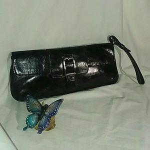 KENNETH COLE Black Evening Bag